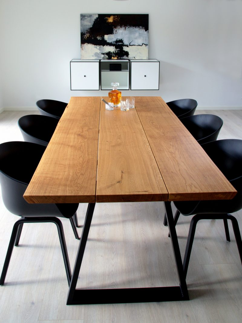 odin ege plankebord i natur eg udført i 3 planker